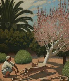 A Garden in Cyprus by Keith Henderson Manchester City Galleries City Gallery, Art Uk, 2d Art, Manchester City, Your Paintings, Still Life, Sculptures, Cyprus, Galleries