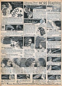 Vintage Hairstyles Updo The Closet Historian: Mervin Hair Wave Clips and Hair Pin Up Hair, Big Hair, Hollywood Stars, Wet Set, Finger Waves, Soft Waves, Pin Curls, Retro Hairstyles, Vintage Haircuts