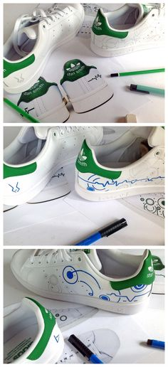 #Custom #STANSMITH byLBP Work in progress ...