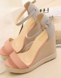 Women's platform wedges heels sandals