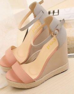 Women's platform wedges heels sandals
