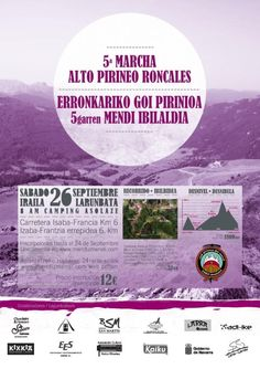 Marcha Alto Pirineo roncaés #Navarra