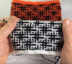 Kids Knitting Patterns, Baby Sweater Knitting Pattern, Knitting Stiches, Baby Knitting, Crochet Patterns, Crochet Double, Single Crochet Stitch, Double Knitting, Mosaic Knitting