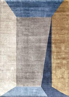 Tappeto fatto a mano in fibra di bambù su misura GOLD   Tappeto in fibra di bambù by Sirecom Tappeti