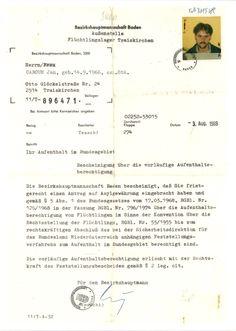 1988 Hystory Flüchtlingslager Traiskirchen Österreich Jan ČABOUN AFCR - American Fund for Czechoslovak Refugees (Uprchlíků v OSN Jan CABOUN). AFCR Gosaumühle Gosauzwang = Hallstatt.