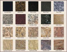 granite countertops   Different Colors of Granite Countertops
