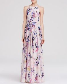 Kay Unger Gown - Floral Print | Bloomingdale's
