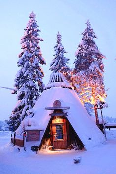 Tiny Snow Hut