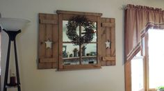 Window mirror we made :)
