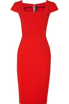 ROLAND MOURET Jeddler Stretch-Crepe Dress. #rolandmouret #cloth #dress