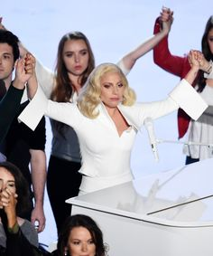 """Lady Gaga Oscars 2016 Til It Happens To You Performance 