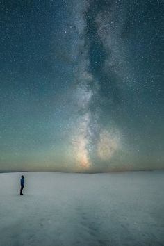 Man and the Milky Way by Ben Canale http://www.thestartrail.com/Starry-Nights/People