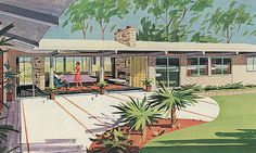 Look at all the windows. Bethlehem Steel Home 1962 by hmdavid, via Flickr