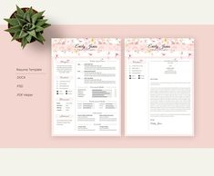 Resume Templates & Design : Water Color CV-Resume Template C Fonts Graphics Photoshop Resume Pdf, Resume Design Template, Resume Tips, Cv Template, Resume Examples, Resume Templates, Resume Ideas, Design Templates, Cv Cover Letter
