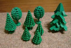 Vintage Lego tree assortment Lego Tree, Vintage Lego, Bologna, Art Ideas, Traditional