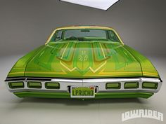 1969 Chevrolet Impala Custom Trunk Lid