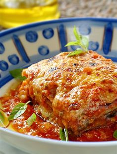 Aubergine Lasagna © Helena de Castro