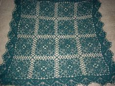 Spanish Tablecloth Herbert Niebling Free Pattern