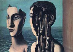 The double secret 1927 Rene Magritte