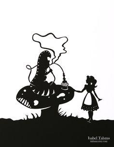 Consigli da un bruco Alice nel paese delle meraviglie di italsma