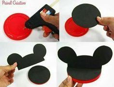 PAP, orelha Minnie/Mickey.