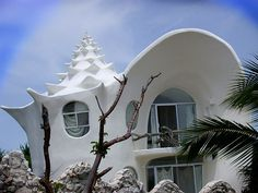 seashell home, I would love to live here