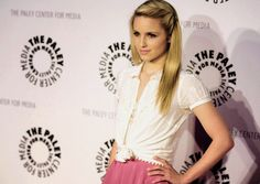 Diana Agron, cute way to pull back bangs