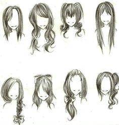 Differnt hairstyles