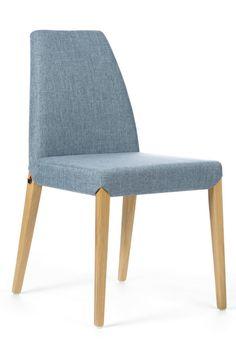 Une chaise au design simple et élégant, avec une attention portée sur le confort et des options pensées pour vous faciliter la vie. Chaise au design passe-partout qui s'intègre parfaitement dans tout intérieur avec piètement bois Collection Sweet 25 par Mobitec.