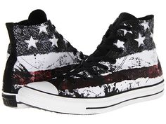 converse high tops - flag for women or men
