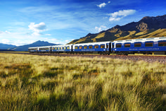 Travel from Machu Picchu to Lake Titicaca two of Peru´s best known attractions, and see the magnificent Lake Titicaca and the islands that make it famous. Machu Picchu, Train Route, By Train, New Age, Peru, Whiskey Tour, Simplon Orient Express, Scenic Train Rides, Train Journey