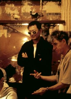 Wong Kar Wai and Chris Doyle.