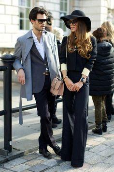 Amazing, both of them! #menswear #womenswear