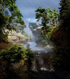 Screenshots from videogames and reviews : Hinterlands