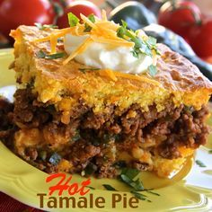 I subbed Jville Hot Italian Sausage for the ground beef in Hot Tamale Pie, and that really kicked up the flavor.  The hot sausage combined with the poblano peppers is a winning combo!  #MyAllrecipes #AllstarsJville #JvilleKitchens #Allrecipes #AllrecipesAllstars #sausage #tamale