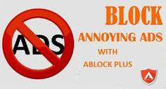 If you want to block annoying ads and pop ups on your system then download Ablock Plus ad blocker.