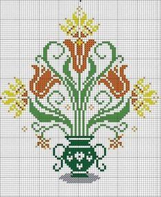 Cross Stitch Heart, Cross Stitch Flowers, Modern Cross Stitch Patterns, Cross Stitch Designs, Needlepoint Patterns, Embroidery Patterns, Cross Stitching, Cross Stitch Embroidery, Easy Cross Stitch