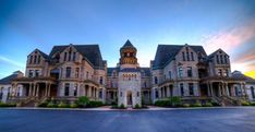 Ohio State Reformatory- Served as the set for The Shawshank Redemption.