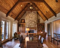 Love this room and the Red Oak hardwood floors!