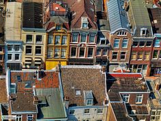 Utrecht city areal view by VIVIDPRINTS, via Flickr