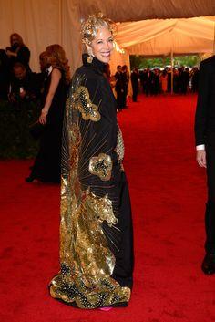 I like the outrageous.  Linda Fargo in Naeem Khan.  Met Gala 2012.