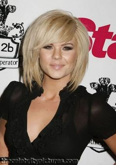 Freakin LOVE this cut!! If only I could pull off short hair!