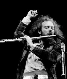Ian Anderson, creative force behind the band Jethro Tull and the very first live band I ever saw. AWESOME!
