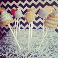 New Year cake pops by Evanssays, be sweet Hats and lips