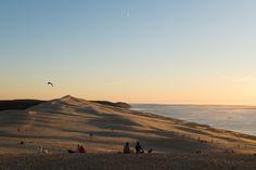 Soleil couchant sur la dune du #Pyla #Pilat. #Aquitaine #France