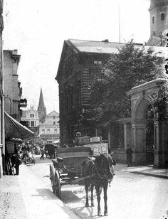 Ulica Farna w kierunku Starego Rynku - ok 1915r
