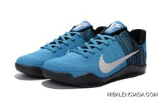 huge discount 65700 b33c1 New Release Nike Kobe 11 Unvieled Gym Blue-White Basketball Shoes  Basketball Sneakers, White