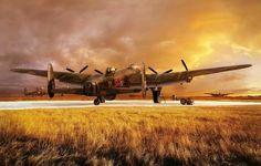 Avro Lancaster - beautiful painting...