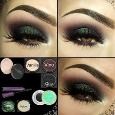 Smokey eye look!!!