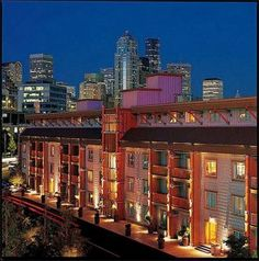 Edgewater Hotel on the Seattle waterfront...I want to stay here some day!